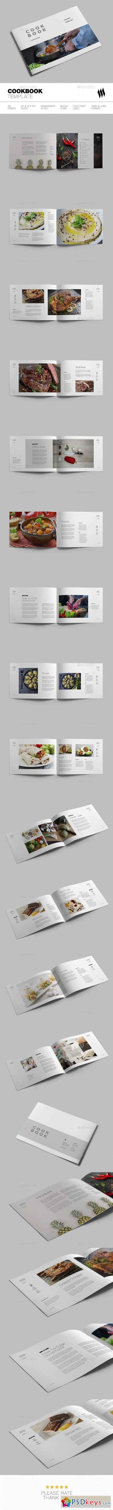 Cookbook Template 19341639 » Free Download Photoshop Vector Stock ...