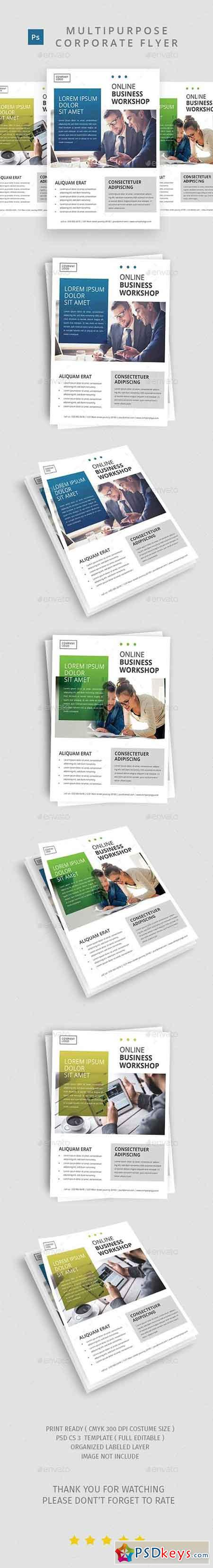 Multipurpose Corporate Flyer Template 20225193