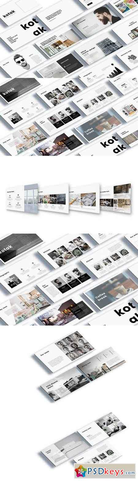 Kotak Interior Design Keynote Template