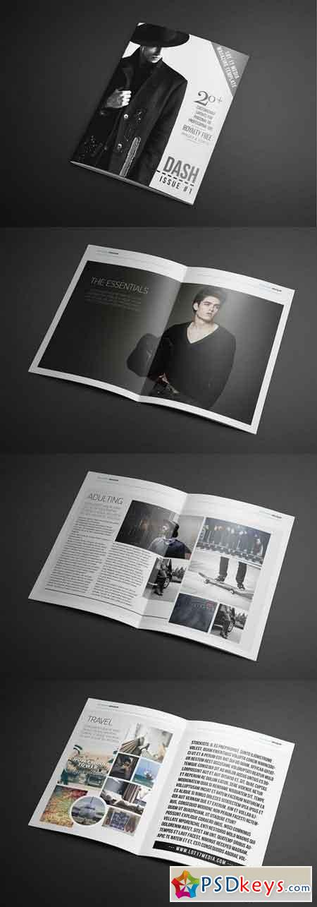 Dash Magazine Template #1 1261165