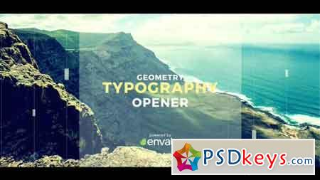 Geometry Typography Opener 19701539 - After Effects Projects