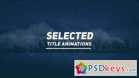 Selected Titles 20016207 - After Effects Projects