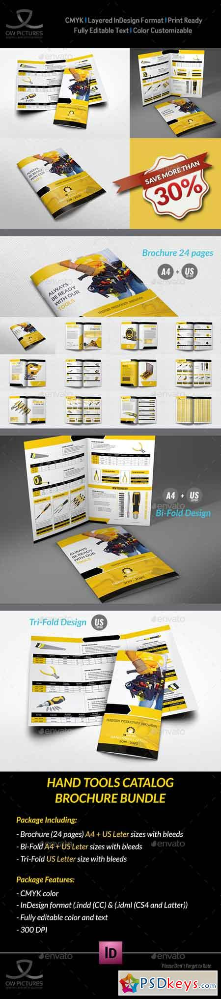 Hand Tools Catalog Brochure Bundle 20171044