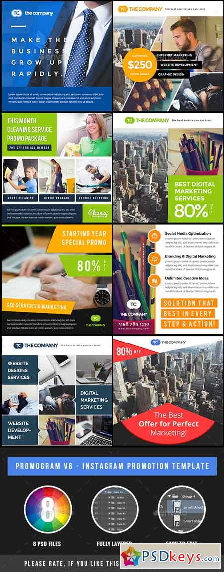 Promogram Vol.07 - Instagram Promotion Template 20146664