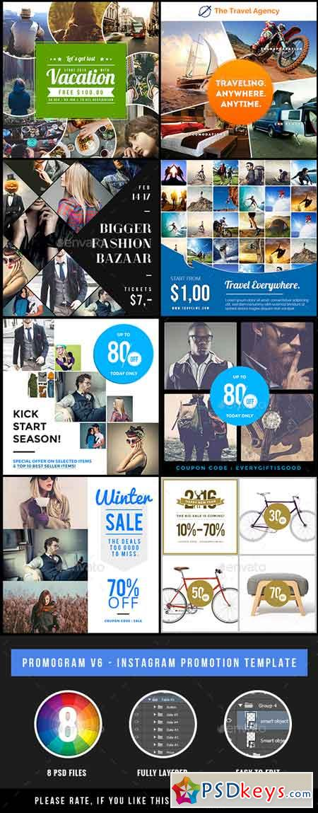 Promogram Vol.03 - Instagram Promotion Template 20146507
