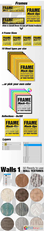 Canvas Mockups - Frames Mockups v 67 1519605