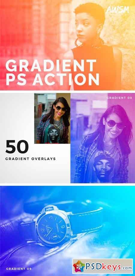 Gradient - Photoshop Action 1604999