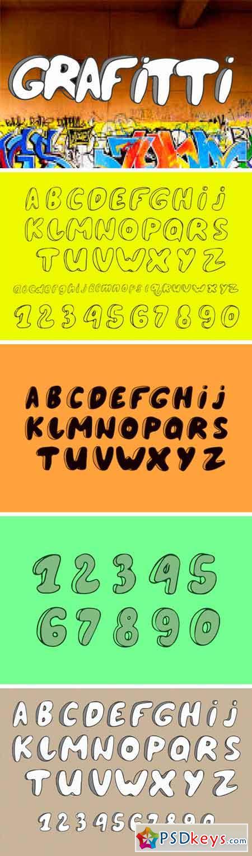 Grafitti Font 1583339