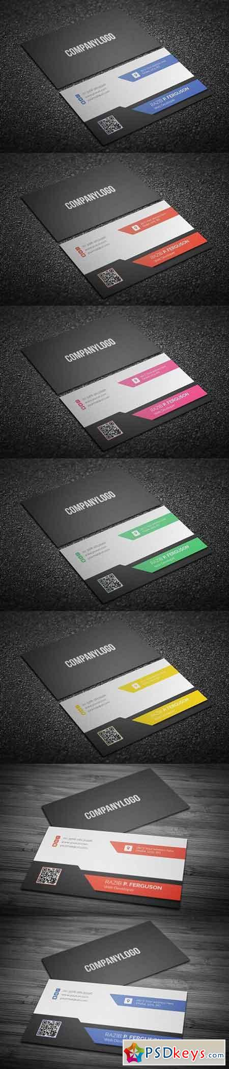 Corporate Business Card Free Download shop