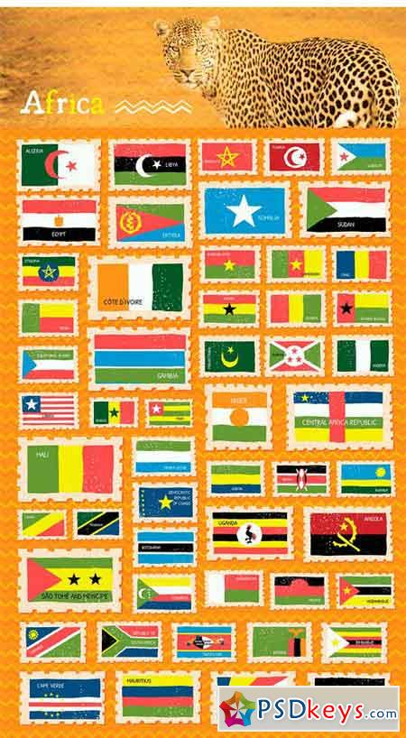 Flags of the World - Vector Icons 1511538