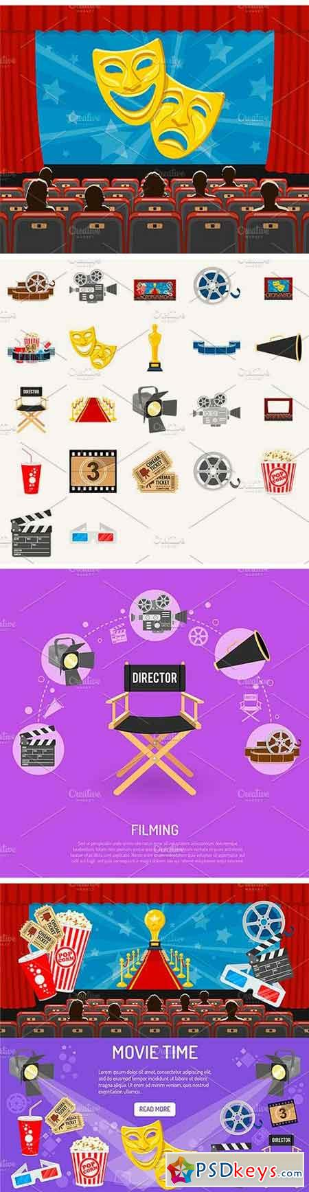 Cinema and Movie Themes 1525813
