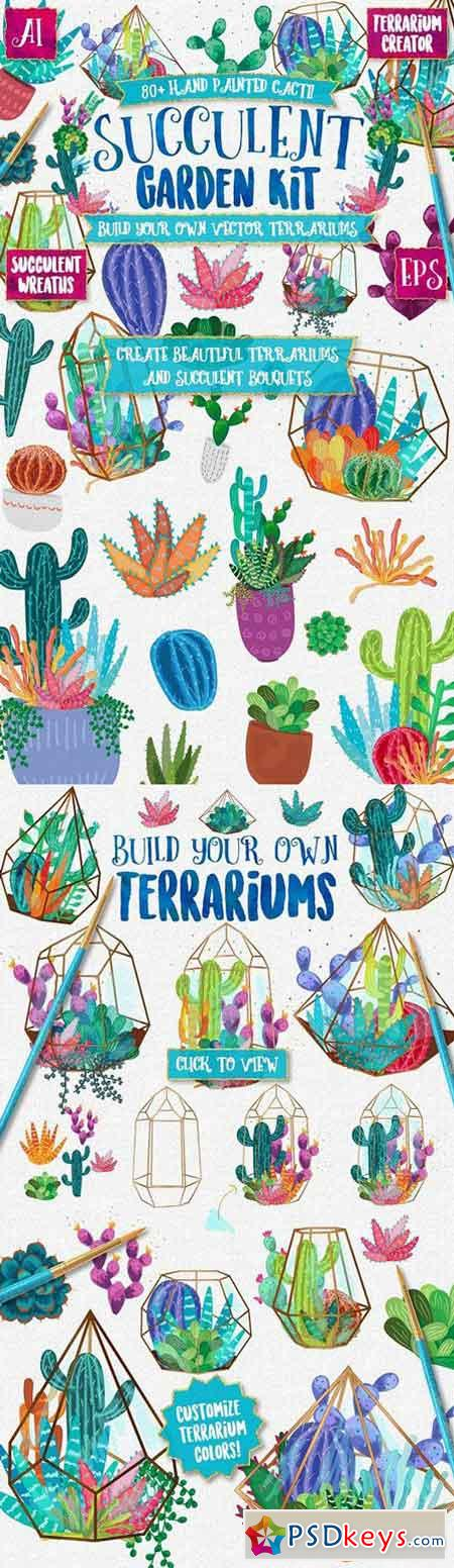 Terrarium Creator Succulents & Cacti 1502009