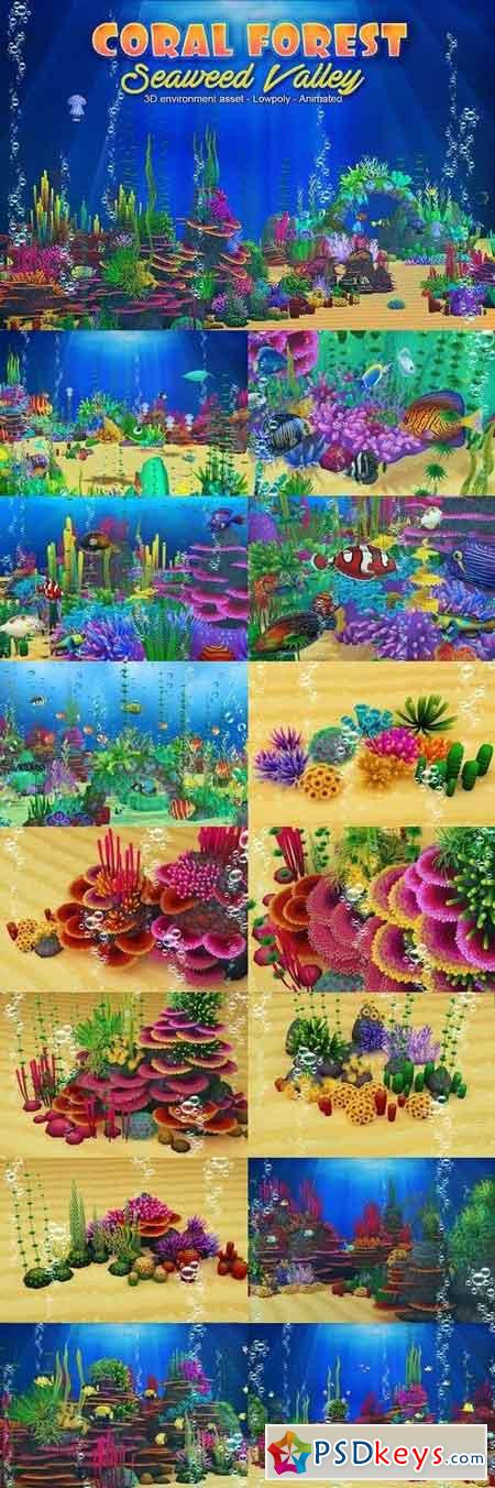Coral Forest - Seaweed Valley 866858