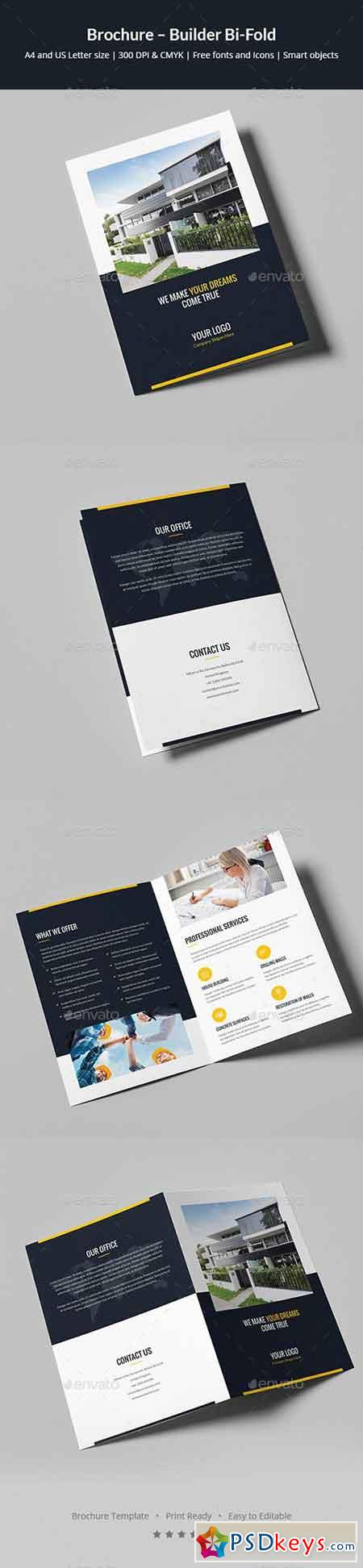 Brochures page 4 free download photoshop vector stock for Bi fold brochure template indesign