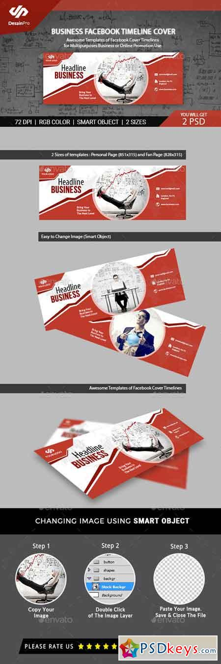 Business Services Facebook Cover Template 20183930