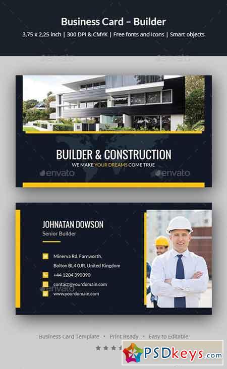 Business Card – Builder 20240706