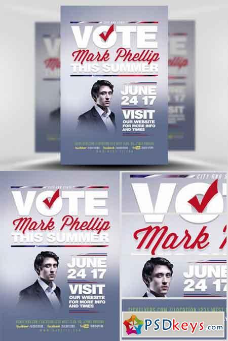 Political Flyer Template V2