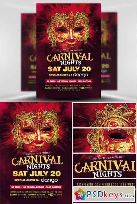 Carnival Flyer Template V2