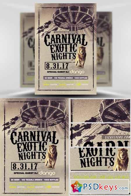Carnival Flyer Template V3