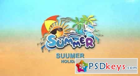 Summer logo - After Effects Projects