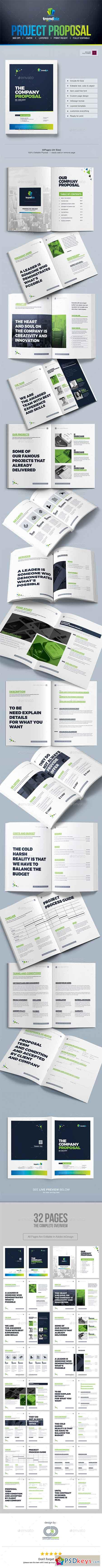 Proposal Template Design Project Proposal Quotation Template 19487580