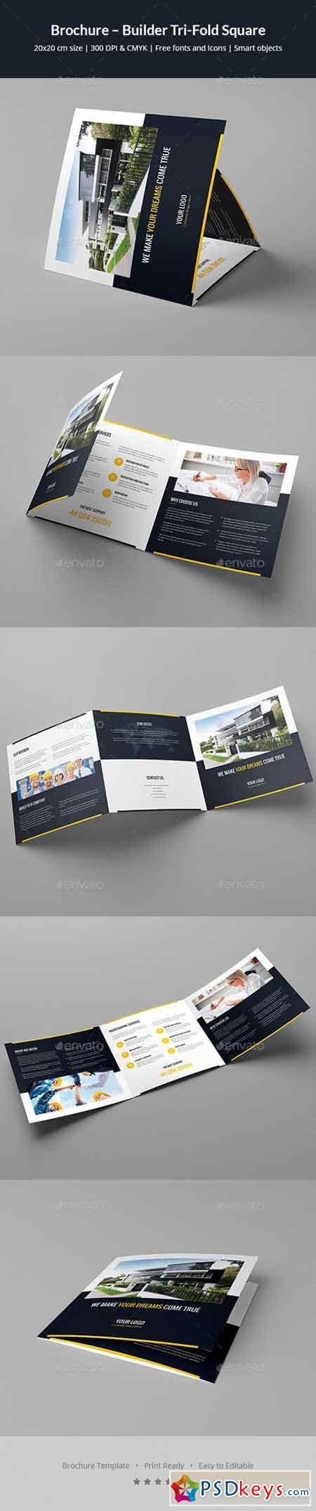 Brochure – Builder Tri-Fold Square 20247905 » Free Download