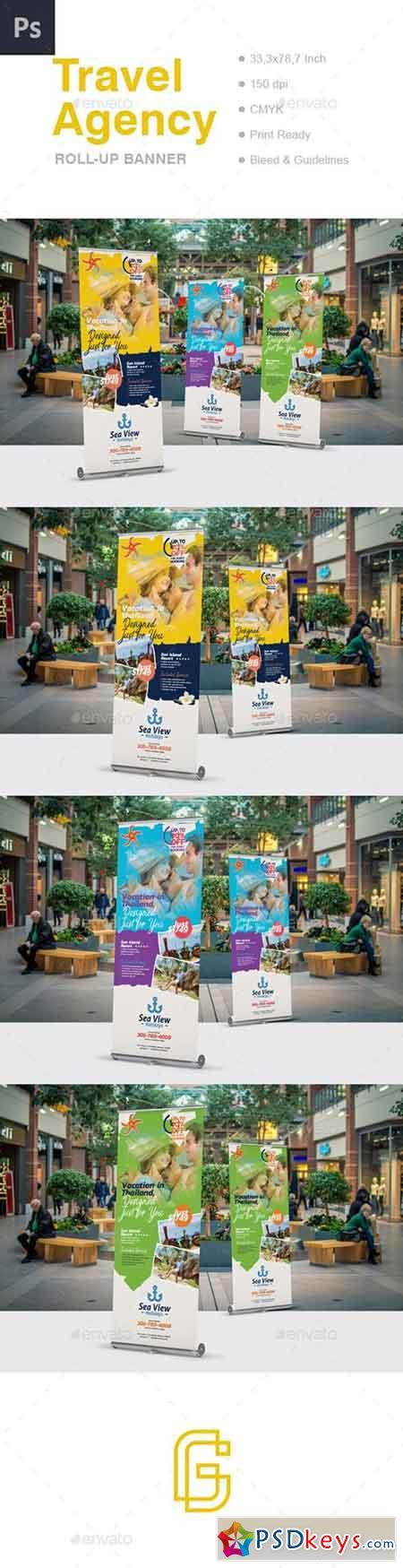 Travel Roll-Up Banner 20286724