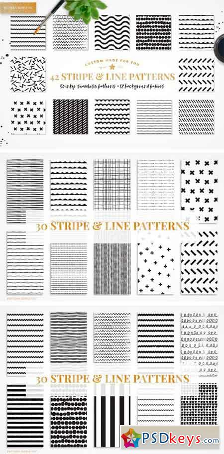 Stripe & Line Patterns 1618305