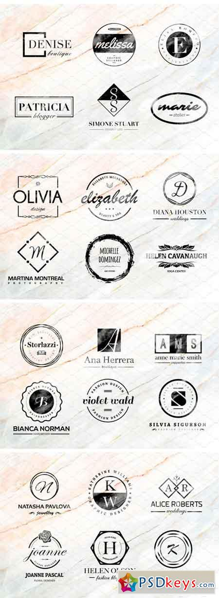 Donna - Logo Templates Pack Vol.1 1583481