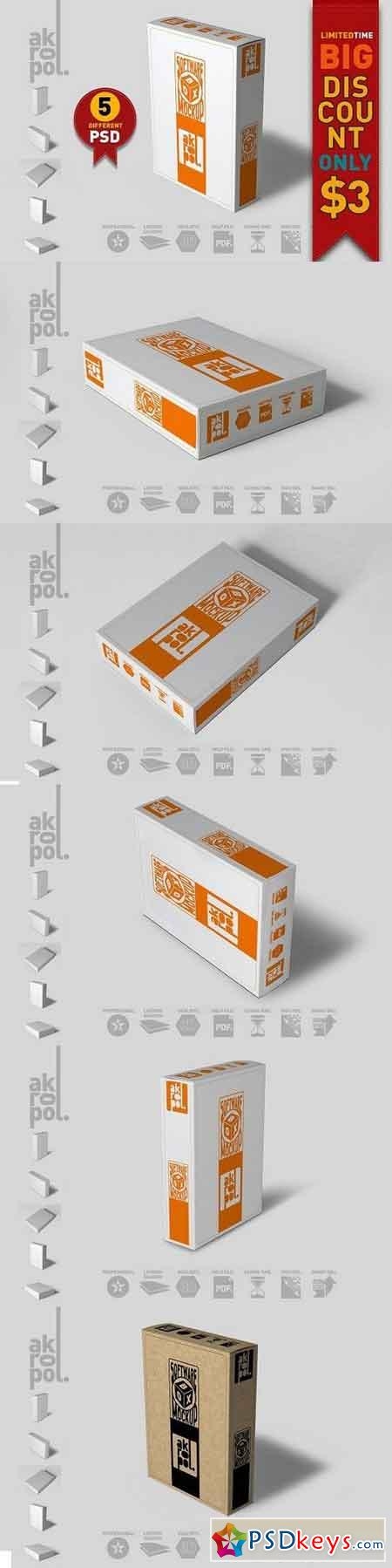 Software Box Mock-up 1317723