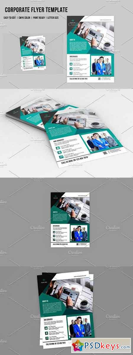 InDesign Corporate Flyer - V562 1490271