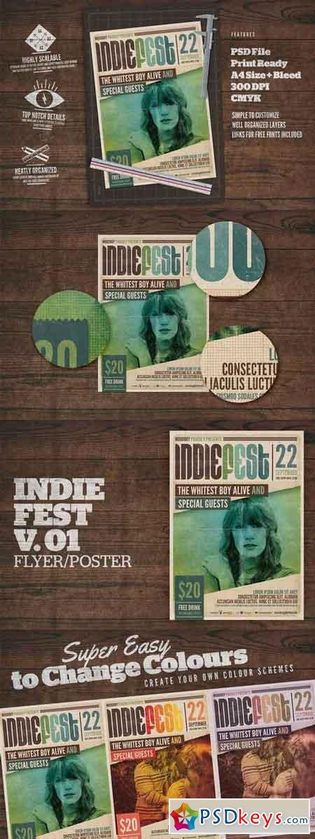 Indie Fest Poster V01