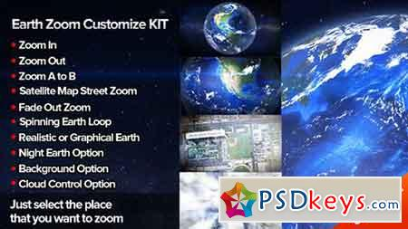 Earth Zoom Customize Kit 4 6451983 - After Effects Projects