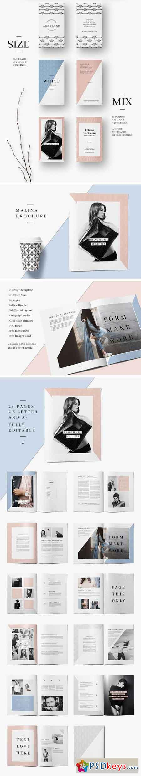 MALINA Branding Bundle – All in One 1507968