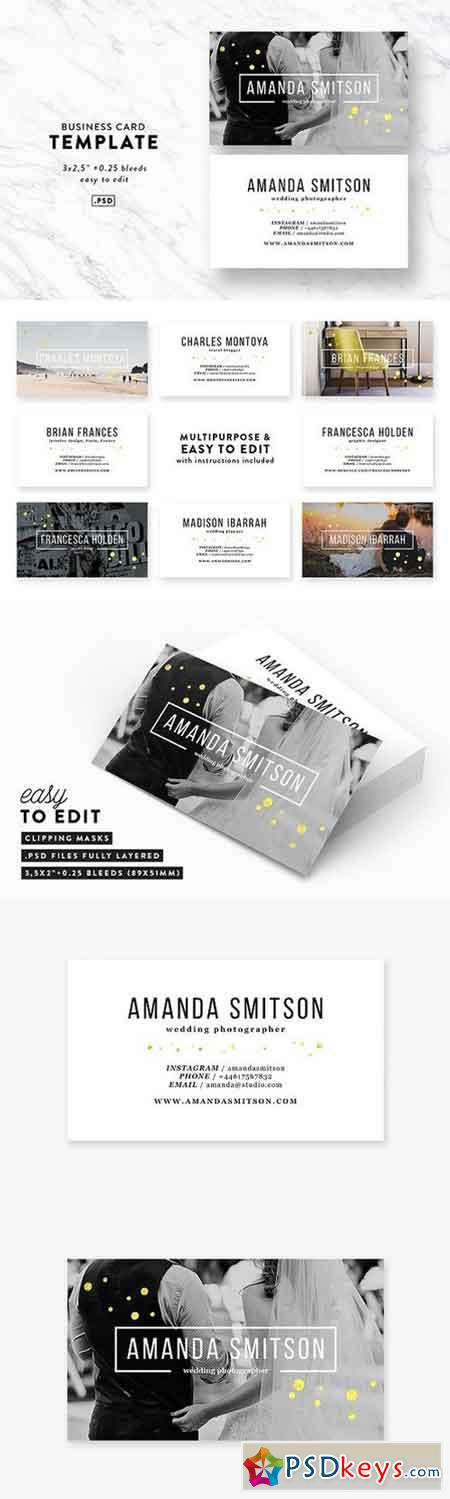 Photography business card template 1594330 free download photoshop photography business card template 1594330 reheart Images