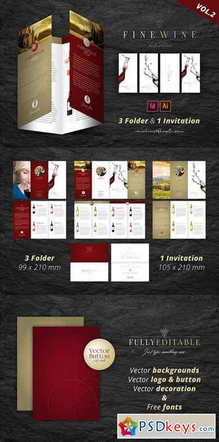 Fine Wine Vol.2 Folder & Invitation 1605548