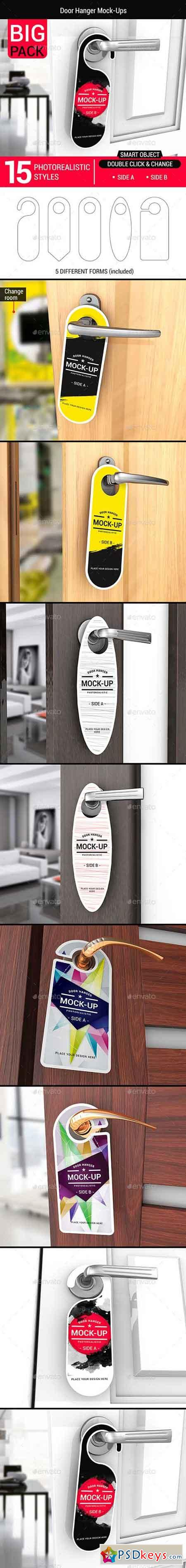 Door Hanger Mock-Ups 15638650