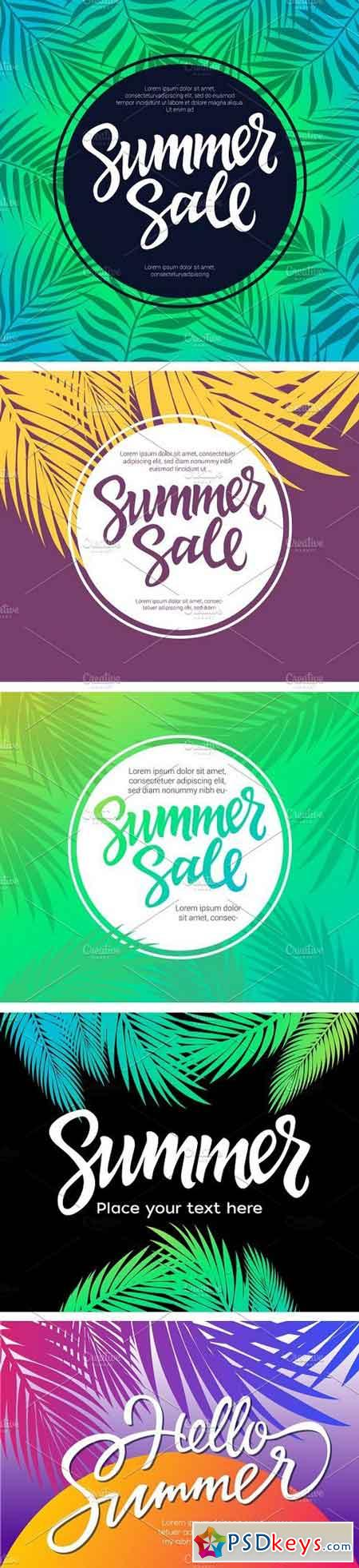 Summer Bundle - 19 Templates 1639148