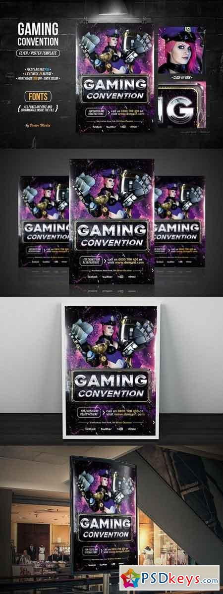 Gaming - Flyer 1294129