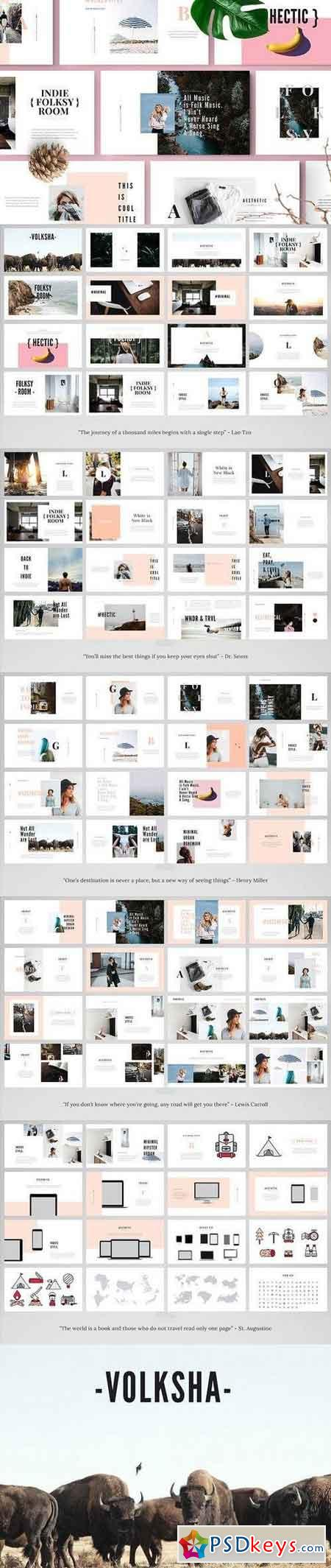 VOLKSHA - Powerpoint Template 1338507