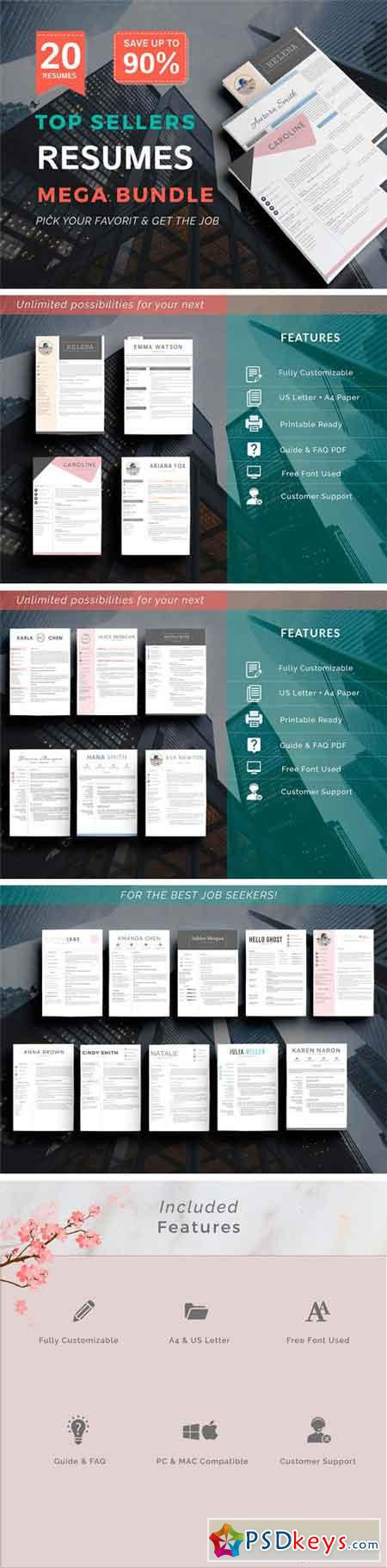 Top Selling Resume - Super Bundle 1643431