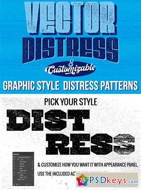 Vector Distress Graphic Styles 1659370