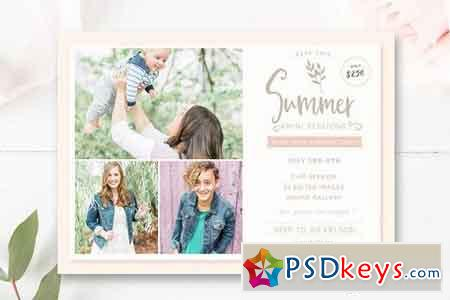 Summer Mini Session Marketing Board 1626831