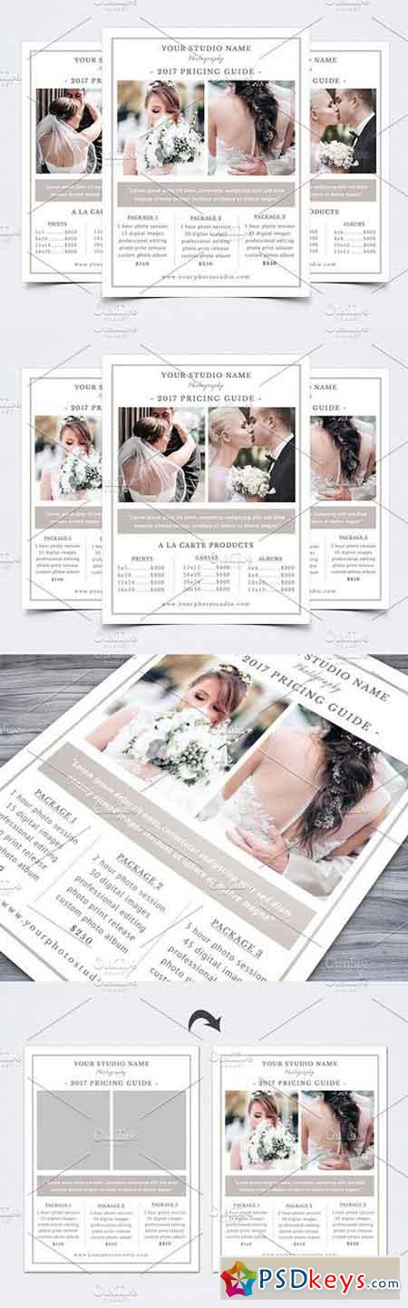 Photography Pricing Guide Template 1626478