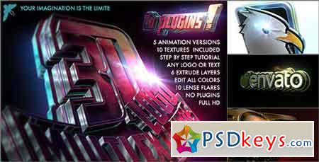 3D Logo - Multi Extrude 15457521 - After Effects Projects