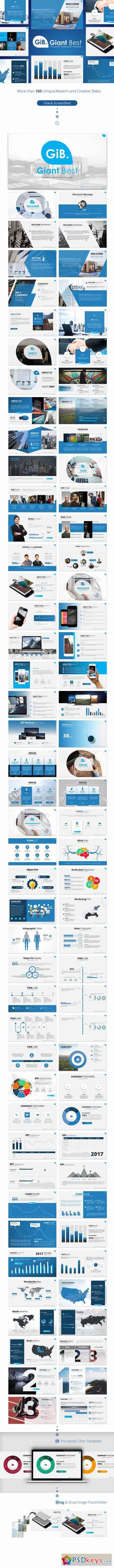 Giant Best PowerPoint Presentation Template 20348756