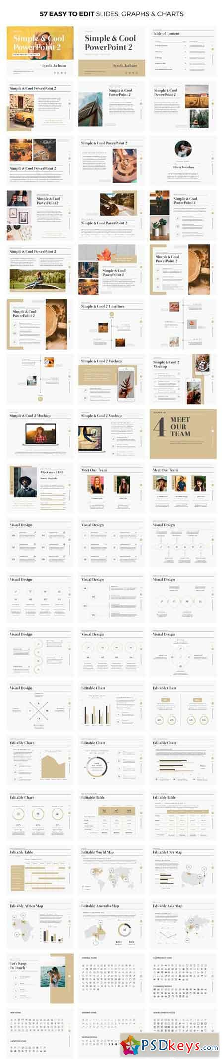 simple & cool powerpoint template 2 1582977 » free download, Presentation templates