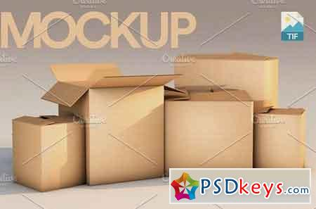 3D Rendered Mockup Boxes 1656179