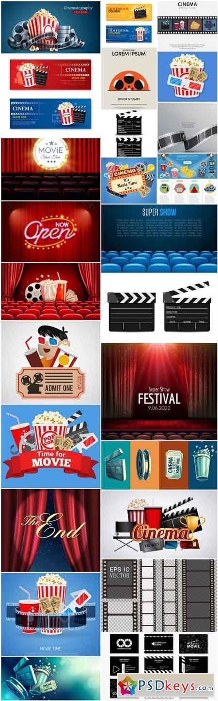 Cinema Movie - 25 Vector