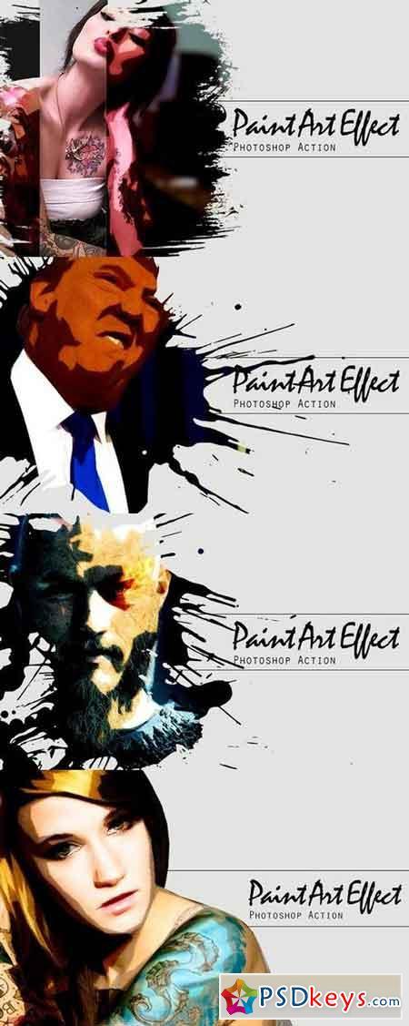 Paint Art Effect 1327023